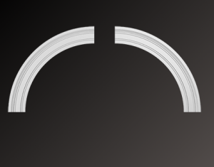Арочное обрамление гибкое 4.87.033