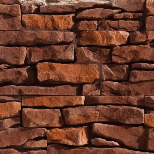 Искусственный камень для отделки фасада коллекции Альпийский пласт