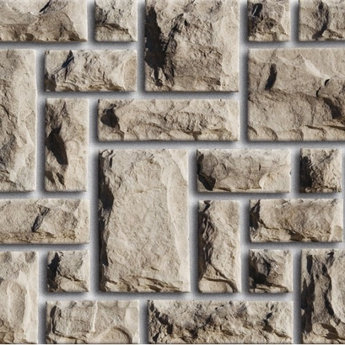 Фасадный камень для  отделки из коллекции Дворцовый камень