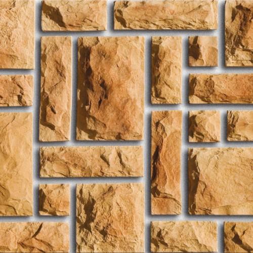Камень для  отделки фасада и цоколя из коллекции Дворцовый камень